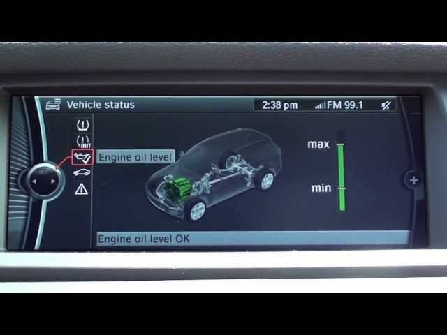 Check Oil Level on BMW Vehicles Without Dipstick - YouTube