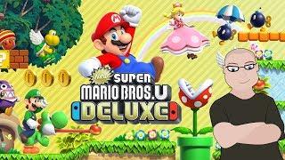 Mario In The Clouds - New Super mario Bros U Deluxe Part 7 (Twitch Stream)