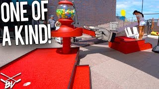 YOU HAVE TO SEE THIS CRAZY ONE OF A KIND MINI GOLF COURSE!