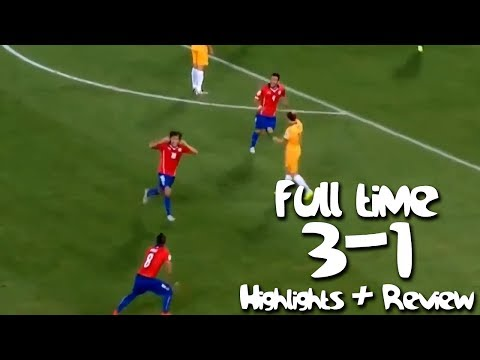 Chile vs Australia 3-1 - FIFA 2014 World cup - Highlights & Review (13/06/2014)