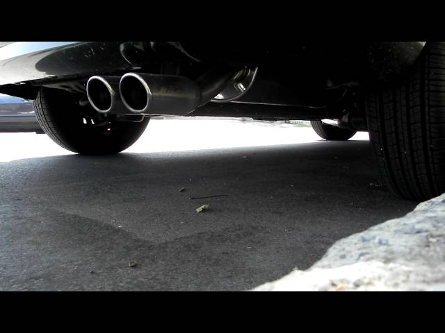 Hyundai Accent catback exhaust (Hyundai Performance)