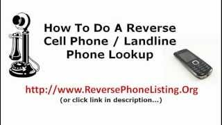 Reverse Cell Phone Lookup - Reverse Phone Number Look up Canada, Too.