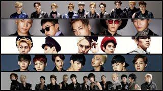 los mejores 20 grupos masculinos de kpop 2018