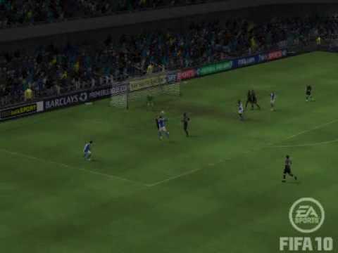 FIFA10 - Man City 0 -1 Blackburn Rovers - Mario Balotelli