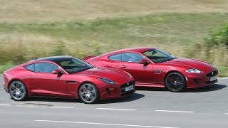 Jaguar XK Dynamic R and F-type R coupé tested