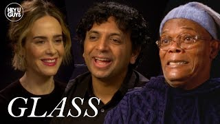 Glass Interviews - Samuel L. Jackson, Sarah Paulson & M. Night Shyamalan