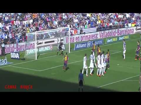 Real Valladolid - FC Barcelona 1 0 Resumen y goles HD