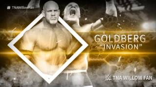 "WWE Goldberg 1st Theme Song ""Invasion"" 2017 ᴴᴰ"