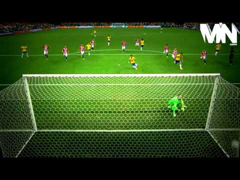 Neymar  All 4 Goals  World Cup 2014 Group Stage.