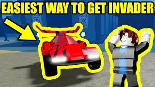 [FULL GUIDE] EASIEST WAY TO BEAT CHICKEN BOSS and GET INVADER | Roblox Mad City