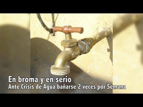 Por la Sequía: Proponen a población dominicana bañarse 2 veces por semana.