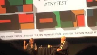 David Letterman at The New Yorker Festival, October 7, 2016