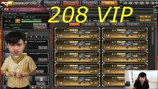 Show acc nhiều VIP nhất CFVN - 208 VIP