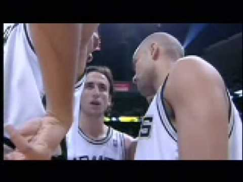 Manu GInobili Video