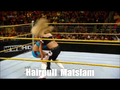 Wwe Current Divas : Signatures & Finishers [20 4 2013] video