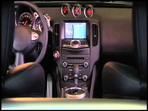 Nissan 370Z - интерьер, тест-драйв