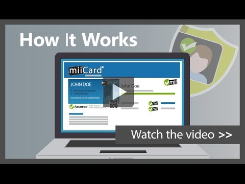 How miiCard Works
