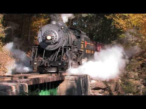 Fall Foliage on the Western Maryland Scenic Railroad