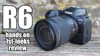 Canon EOS R6 HANDS ON first looks review vs R5 vs A7III