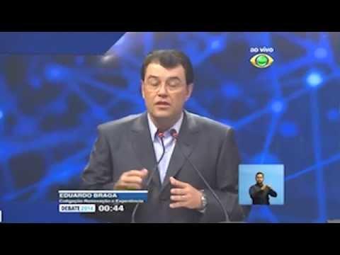 [Debate Band Am] Eduardo pergunta sobre segurança para Marcelo Ramos e ...