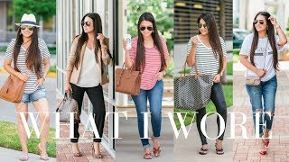 WHAT I WORE - 12 Summer Outfit Ideas | LuxMommy