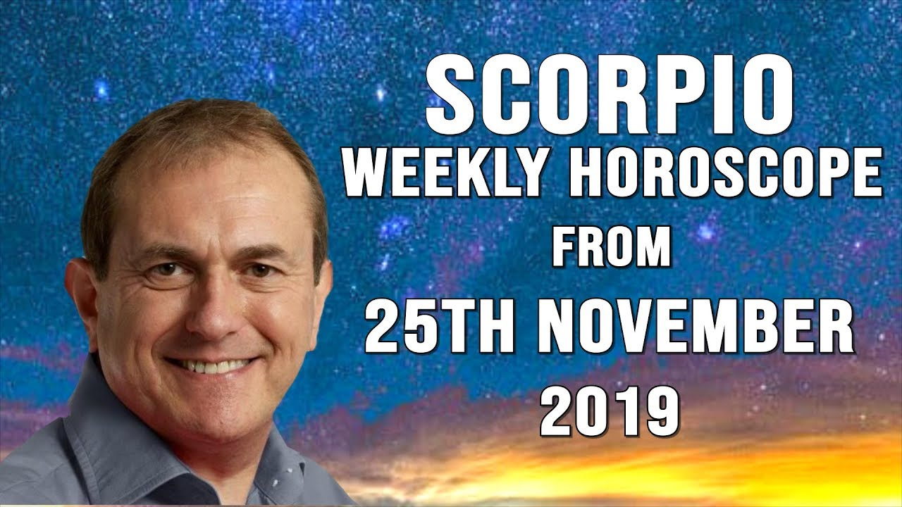 Weekly Horoscopes from 25th November 2019