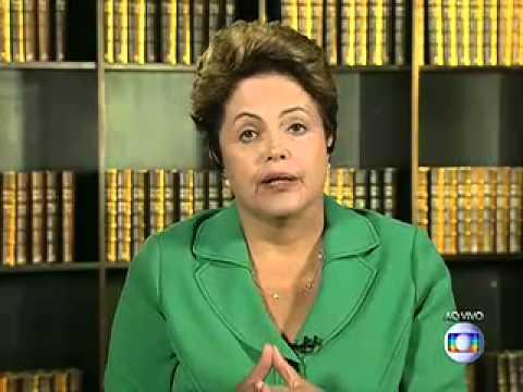 Entrevista de Dilma Rousseff no Jornal Nacional JN [27/10/2014]