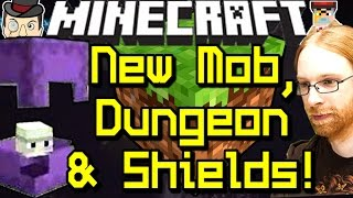 Minecraft News SHULKER MOB, End City Dungeon, Shields (1.9 Update)