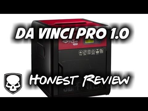 DaVinci Pro 1.0 3D Printer - Honest Review