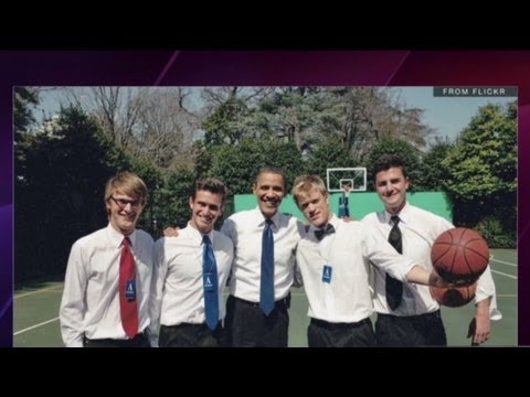 'Buried Life' Obama shoots hoop, check off buck...