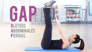 Rutina de glúteos, abdominales y piernas GAP