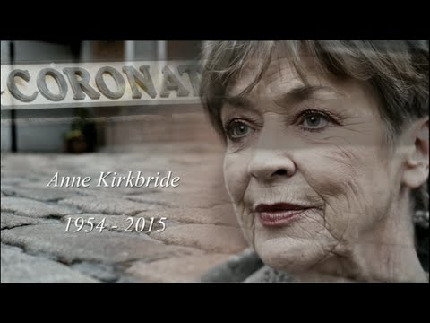 Granada Reports - Anne Kirkbride tribute programme