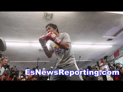 mma great Randy Couture rooting for manny pacquiao vs floyd mayweather - EsNews