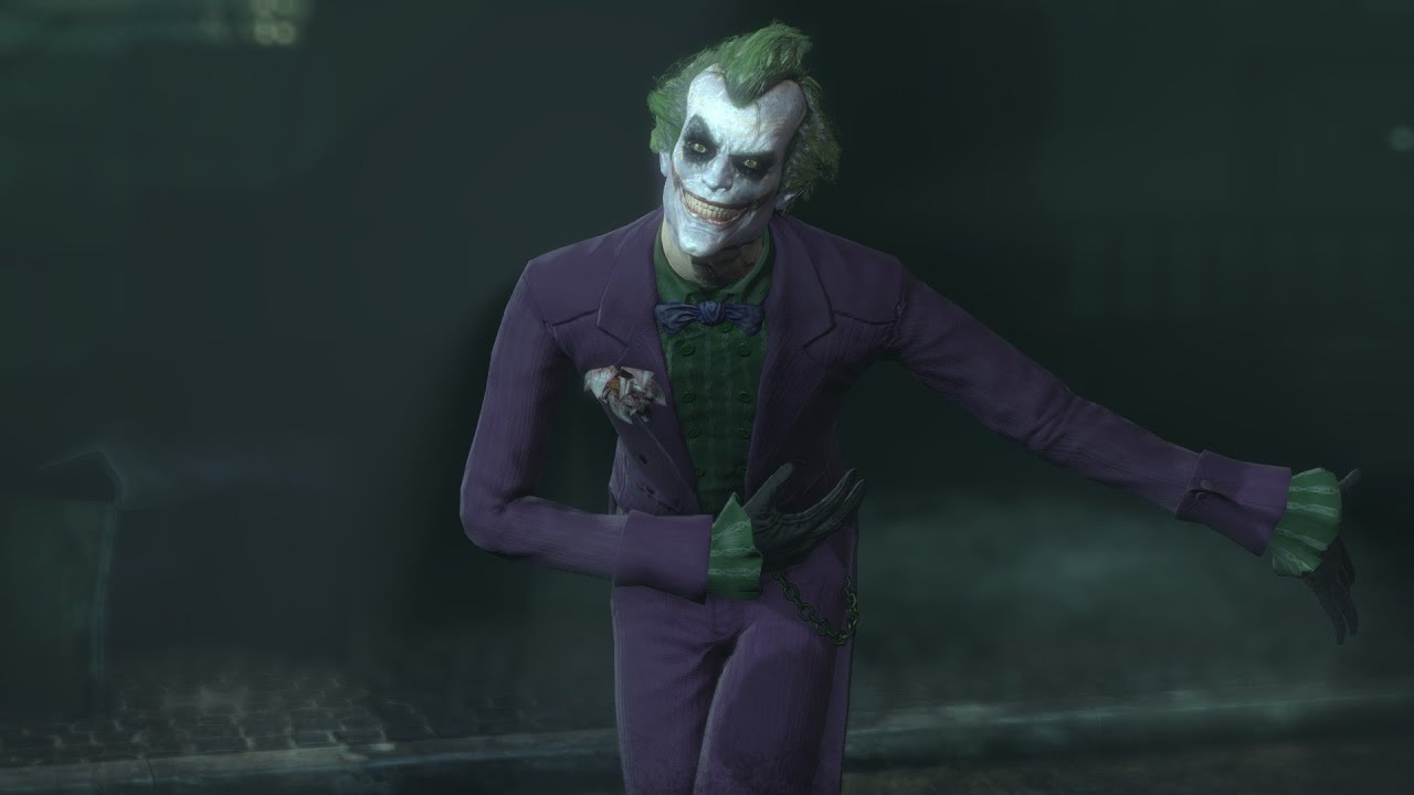 Arkham Joker Skin Skin Batman Arkham City
