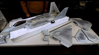Freewing F-22 Raptor 90mm EDF Jet - UNBOXING the F22