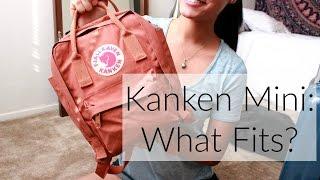 Kanken Mini - What Fits?!