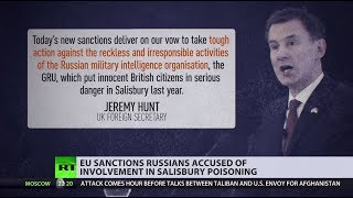 EU slaps sanctions on chief of Russia's military intelligence GRU over Skripal case