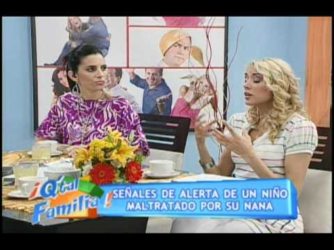 Psicóloga Lizbeth Cueva, programa QUE TAL FAMILIA, canal 13 - 1 parte