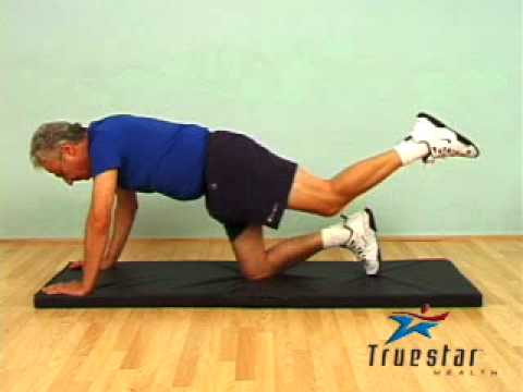Floor Hip Extension Senior Male