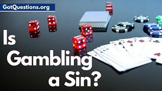 Do christians believe gambling casino dealer wanted