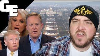 Sean Spicer's Alternative Facts Are Fascist Propaganda || Politics