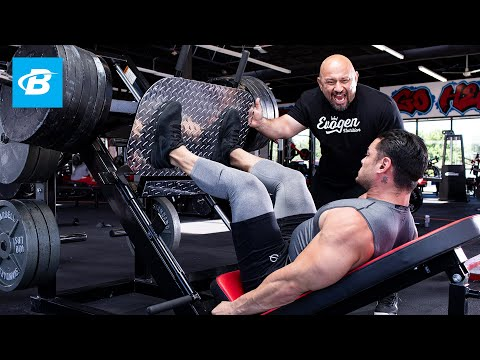 FST-7 Quads Workout with 4x Physique Olympia Jeremy Buendia & Hany Rambod | FST-7: Big and Ripped