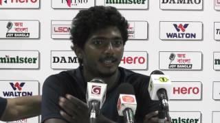 2nd Test, Day 03 - Post Match Press Conference with Lakshan Sandakan