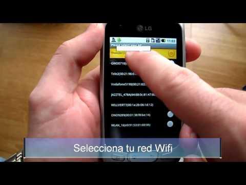 Optimiza tu red Wifi con Android LG Optimus one P500 smart team  LG 스마트폰