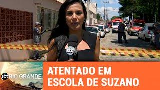 Atentado em escola de Suzano (SP) faz 10 vítimas - SBT Rio Grande - 13/03/19