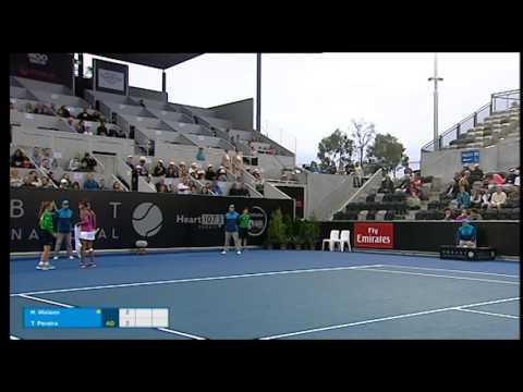 Heather Watson v Teliana Pereira highlights (1R) | Hobart International 2016