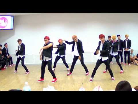 130920 The Most Wanted cover EXO – Growl(으르렁) @Hello! Korea by MBK & iTeen (Audition)