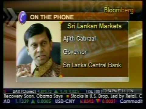 Sri Lanka Rebuild Its Economy - Bloomberg