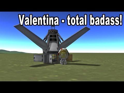 Valentina Kerman, ODST - Kerbal Space Program 1.0