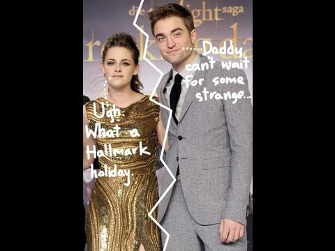 Robert Pattinson & Kristen Stewart Trying An Open Relationship: WHY????